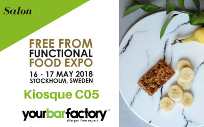 Salon Free From Functional Food Expo 2018 – Stockholm