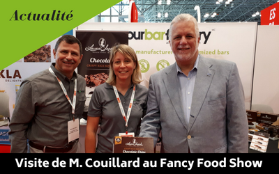 Visite de Philippe Couillard au Fancy Food 2018